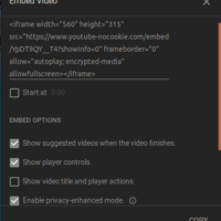 How to Hide Titles and Change Other Setting for YouTube, Vimeo, Dailymotion embeds (in WordPress with ARVE)